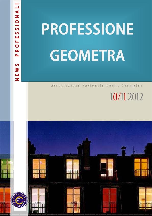 """Il nuovo numero di """"Professione Geometra"""""""